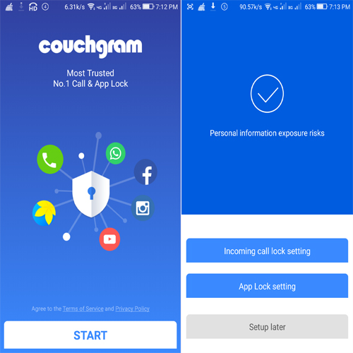 Couchgram Call & App Lock