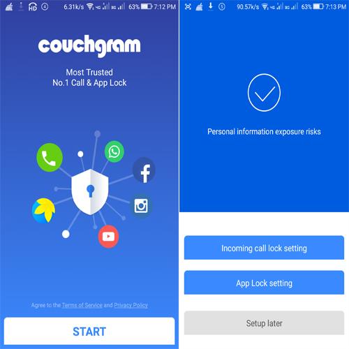 Couchgram Call & App Lock
