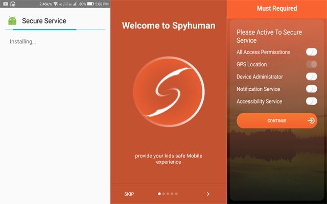 SpyHuman Android Spy Apps