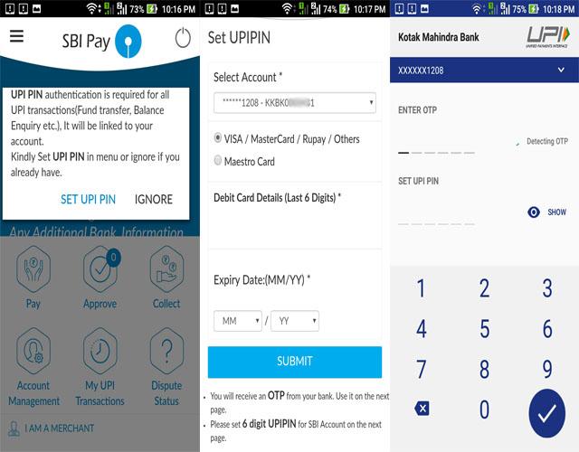 SBI Pay Registration