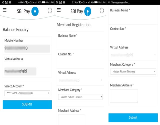SBI Pay Merchant Registration